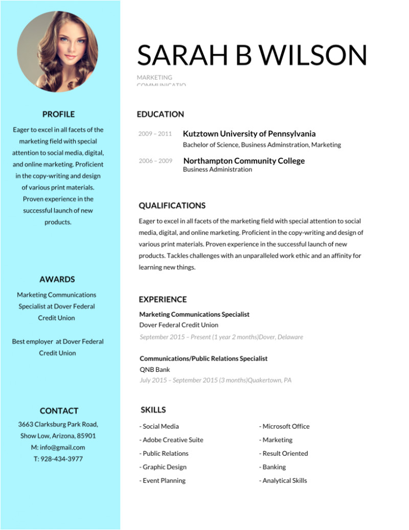 Editable Resume format Word 50 Most Professional Editable Resume Templates for