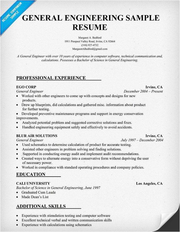 Electrical Engineer Resume Job Hero 10 Best Best Electrical Engineer Resume Templates