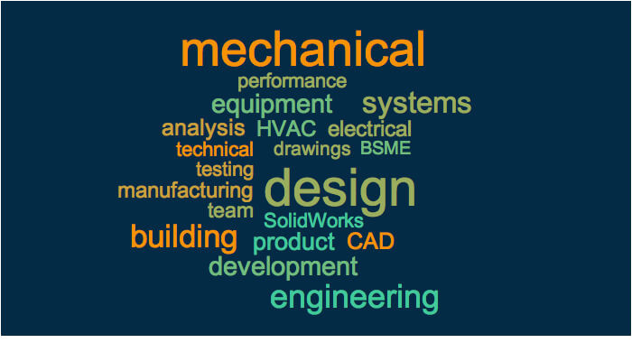 resume examples keywords for mechanical engineering