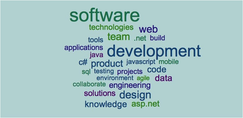 resume examples keywords for software engineers
