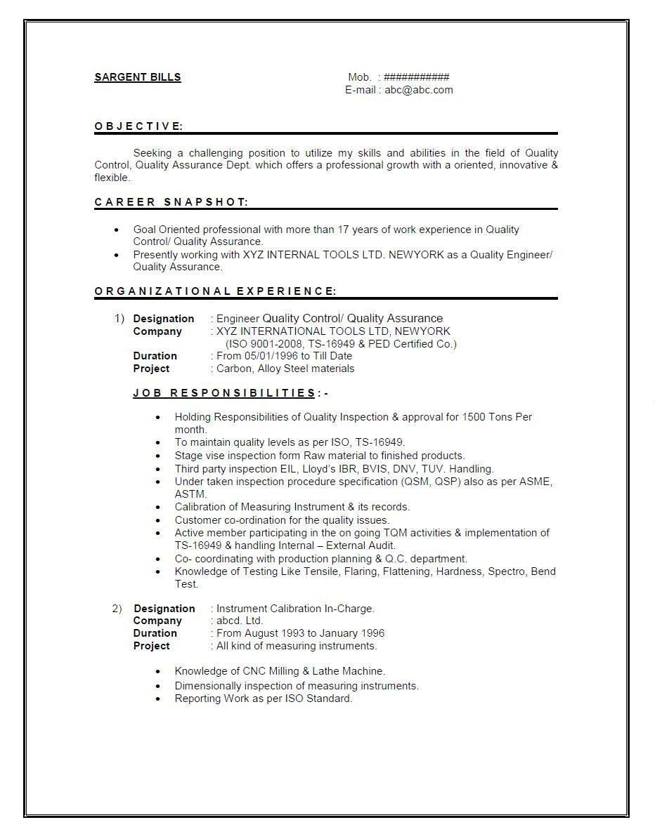 experienced mechanical engineer resume pdf  williamsonga