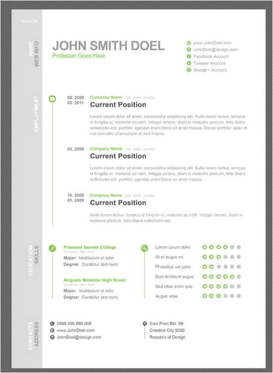 Fbla Job Interview Resume 7 Free Resume Template Fbla Ideas Pinterest Creative