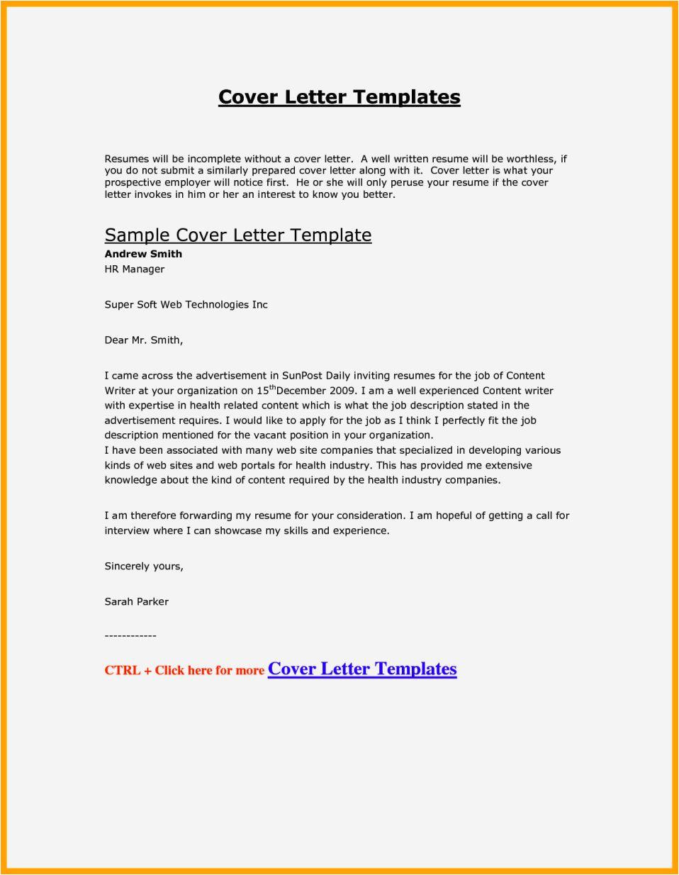 fill in resume cover letter