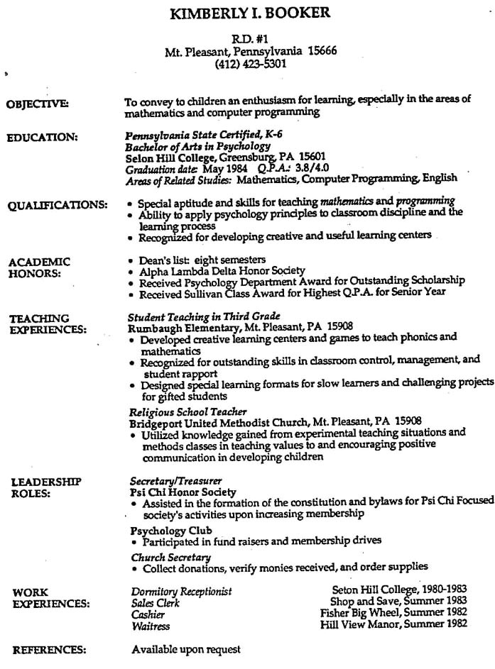 how to create a professional resume 5