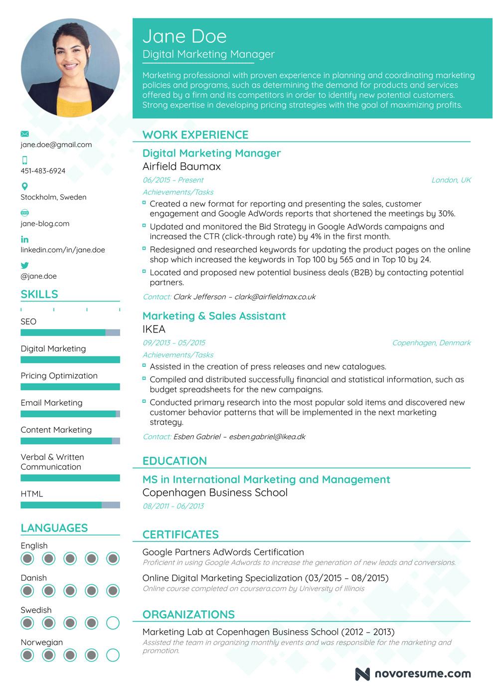 how to write a resume guide