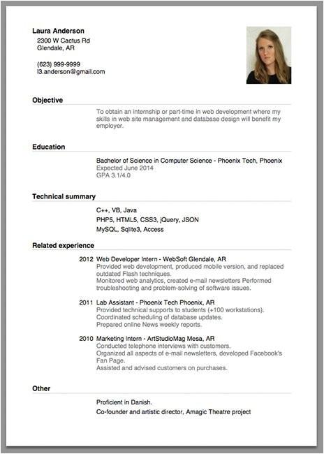 how to make cv resume for job