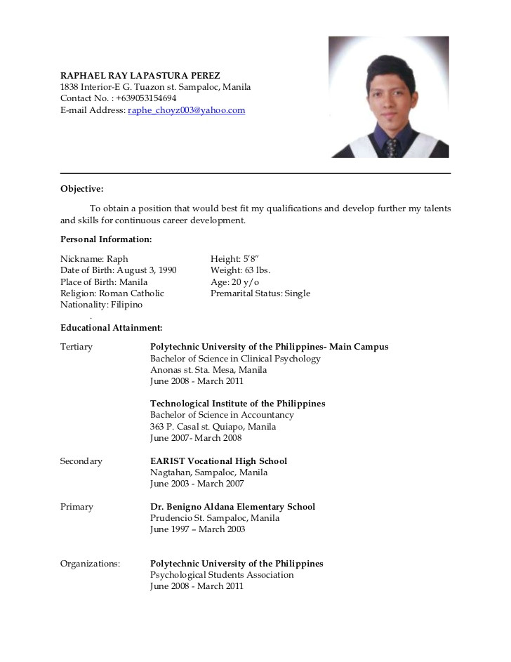 latest resume 8635501