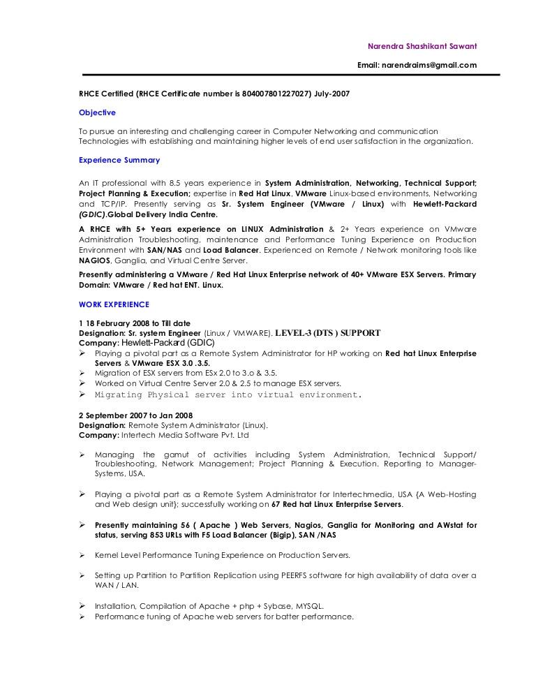 vmware linux administrator presentation