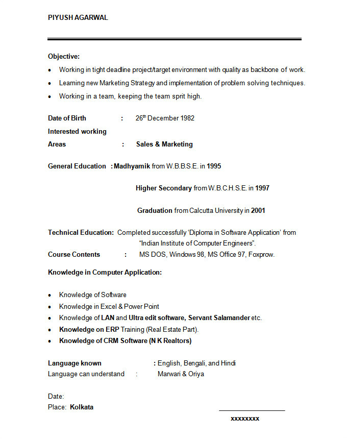 Marketing Student Resume 24 Student Resume Templates Pdf Doc Free Premium