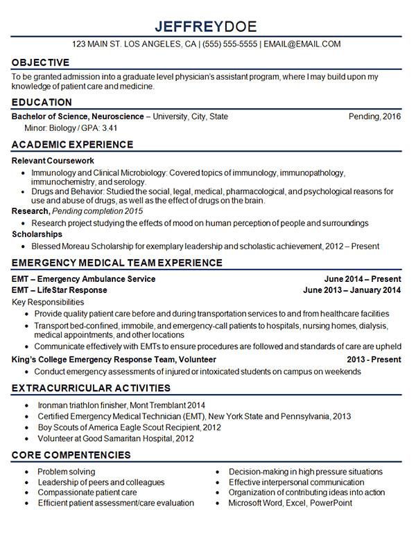 Medical Student Resume Medical Student Resume Example Sample