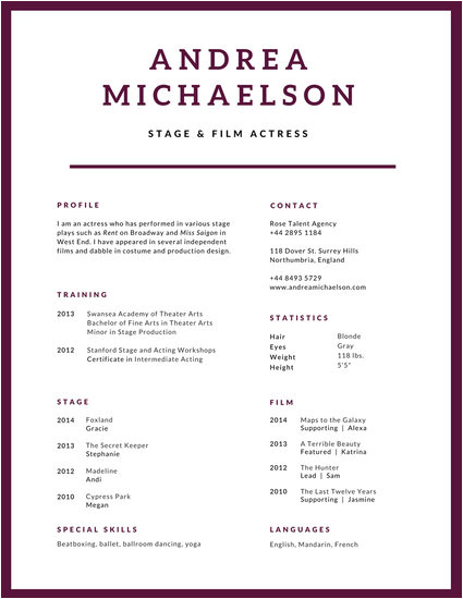 Modern Simple Resume format Modern Resume Templates Canva