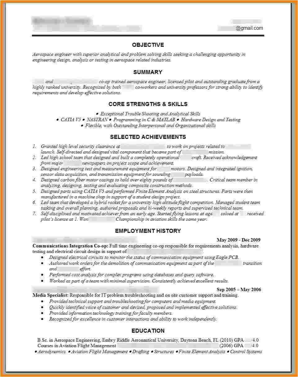 9 free engineering resume template