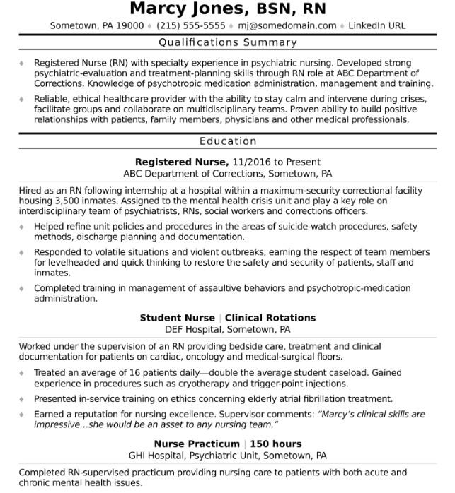 how to improve your nursing resume
