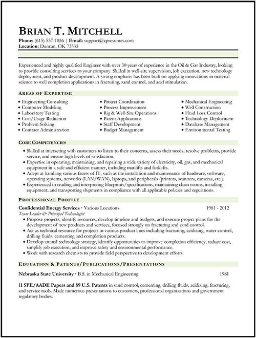 Oil and Gas Civil Engineer Resume Oil Gas Engineer Resume Sample Resume format Examples