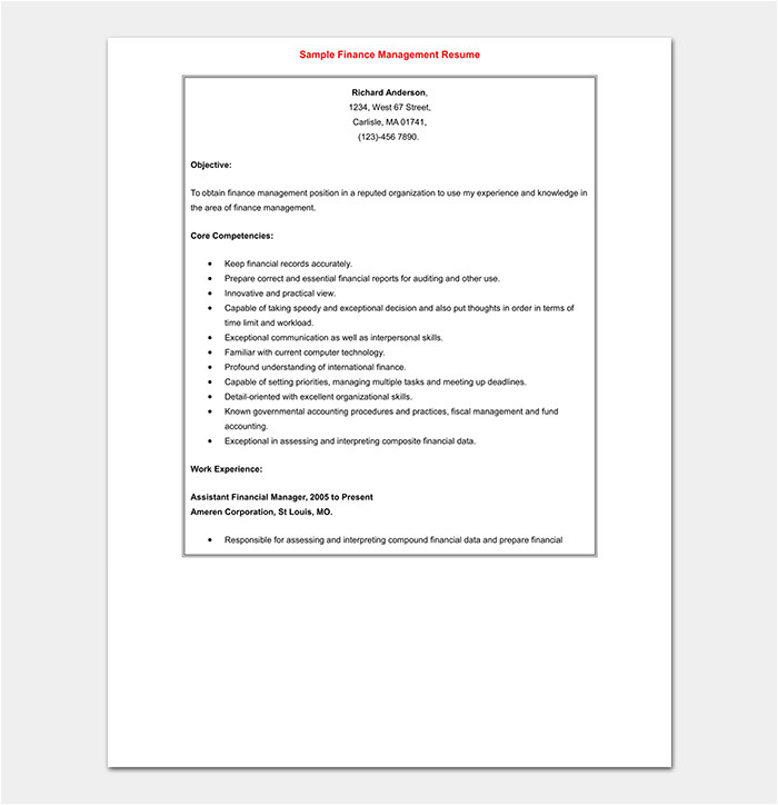 Post Graduate Resume format Word Fresher Resume Template 50 Free Samples Examples
