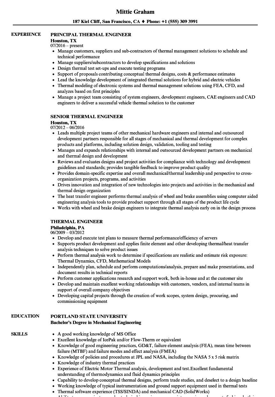 doc engineer job resume spacecraft stress