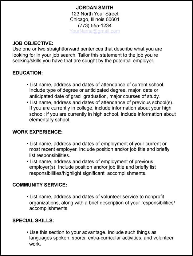 Resume and Job Application and Job Interviews Job Application Resume Template Adsbygoogle Window