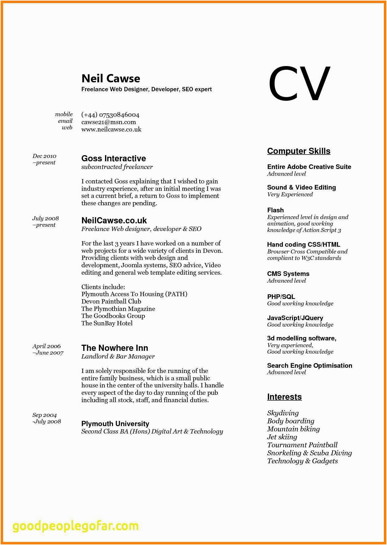 resume samples computer skills section computer skills best 3