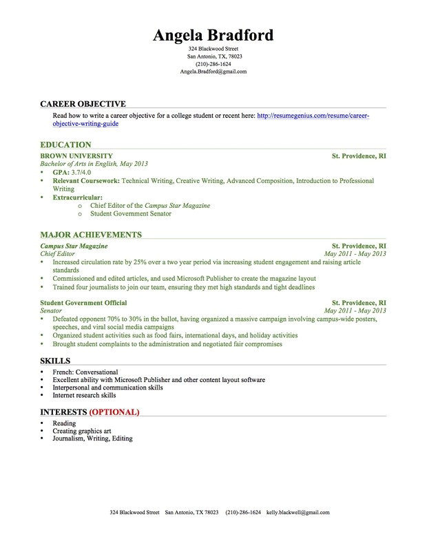 Resume for Students with No Experience How to Write A Resume with No Experience Popsugar Career