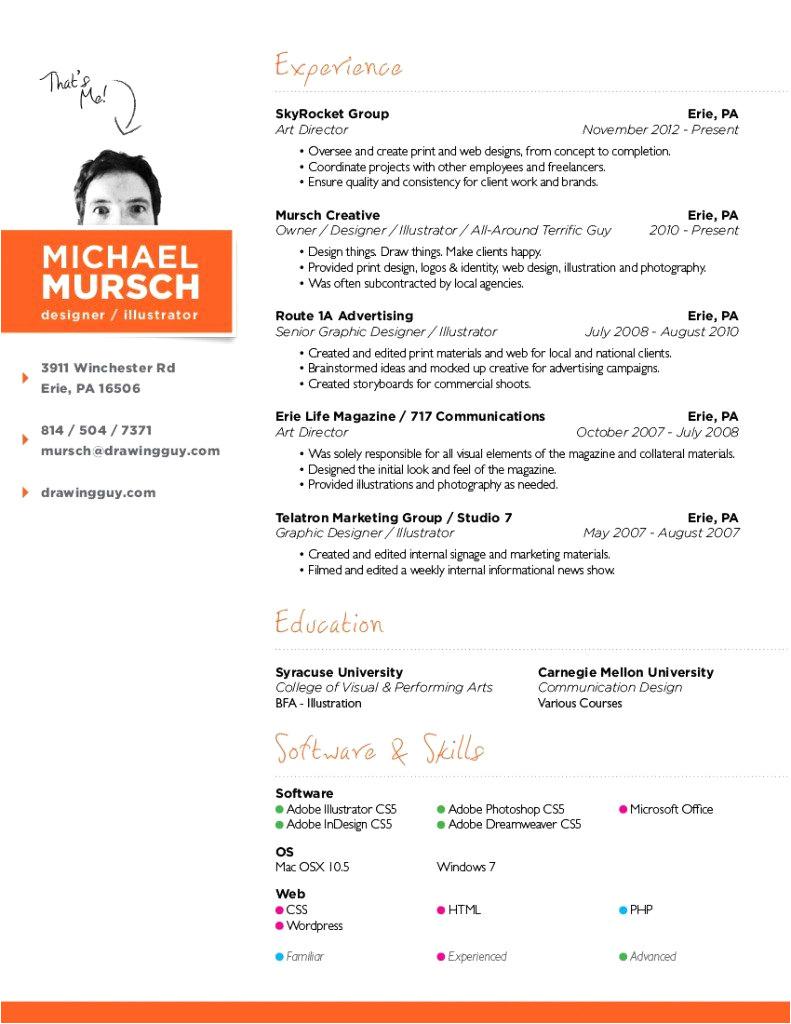 sample resume for web designer fresher