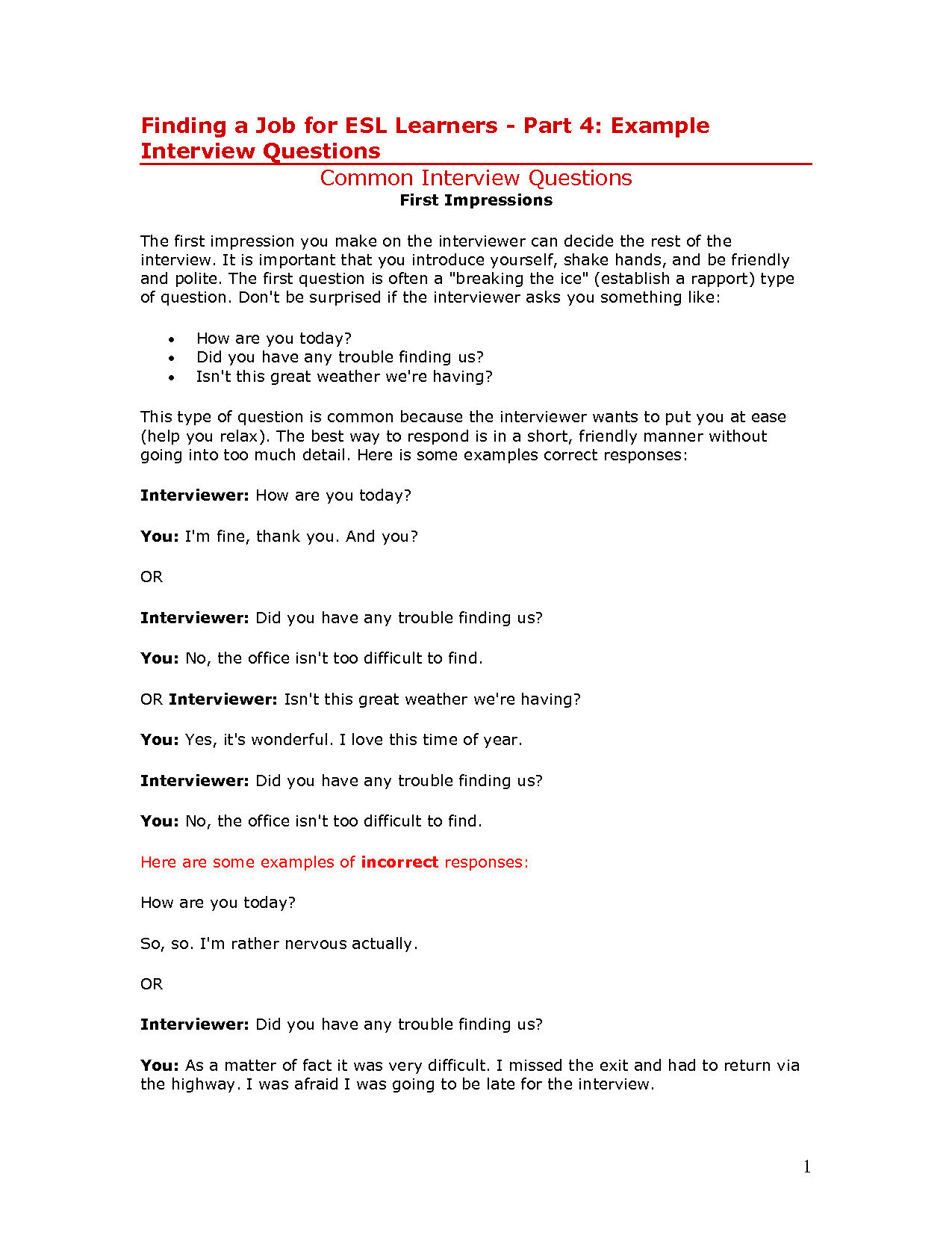 post essay examples of interview questions 309047