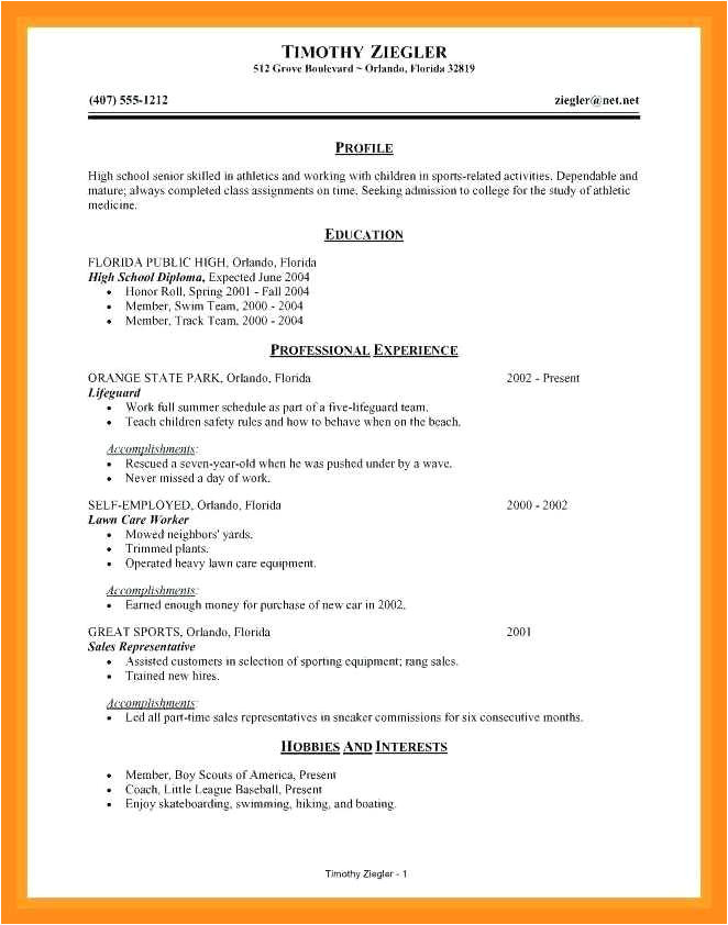 Resume Maker for Students 12 13 Resume Maker for College Students