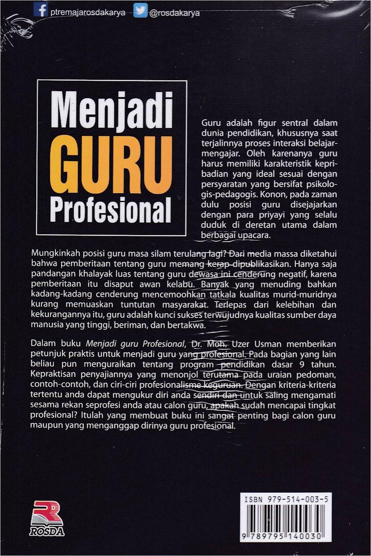 Resume Menjadi Guru Profesional Jual Menjadi Guru Profesional Uzer Di Lapak toko Buku Rafi
