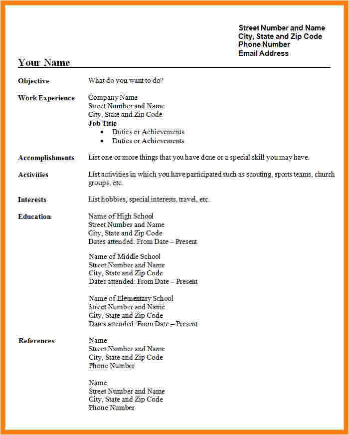 9 cv model download pdf