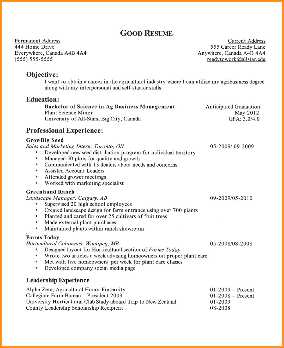 14 15 high school student resume skills