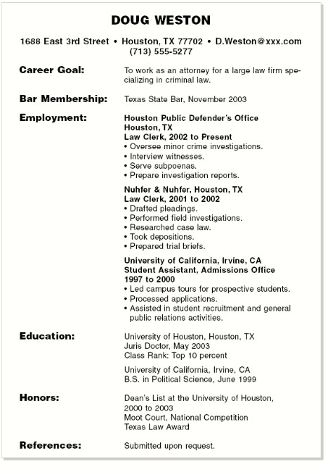 professional summary resume examples student