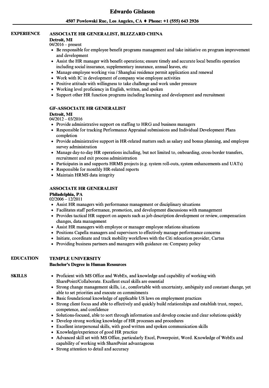 quote template retail manager resume