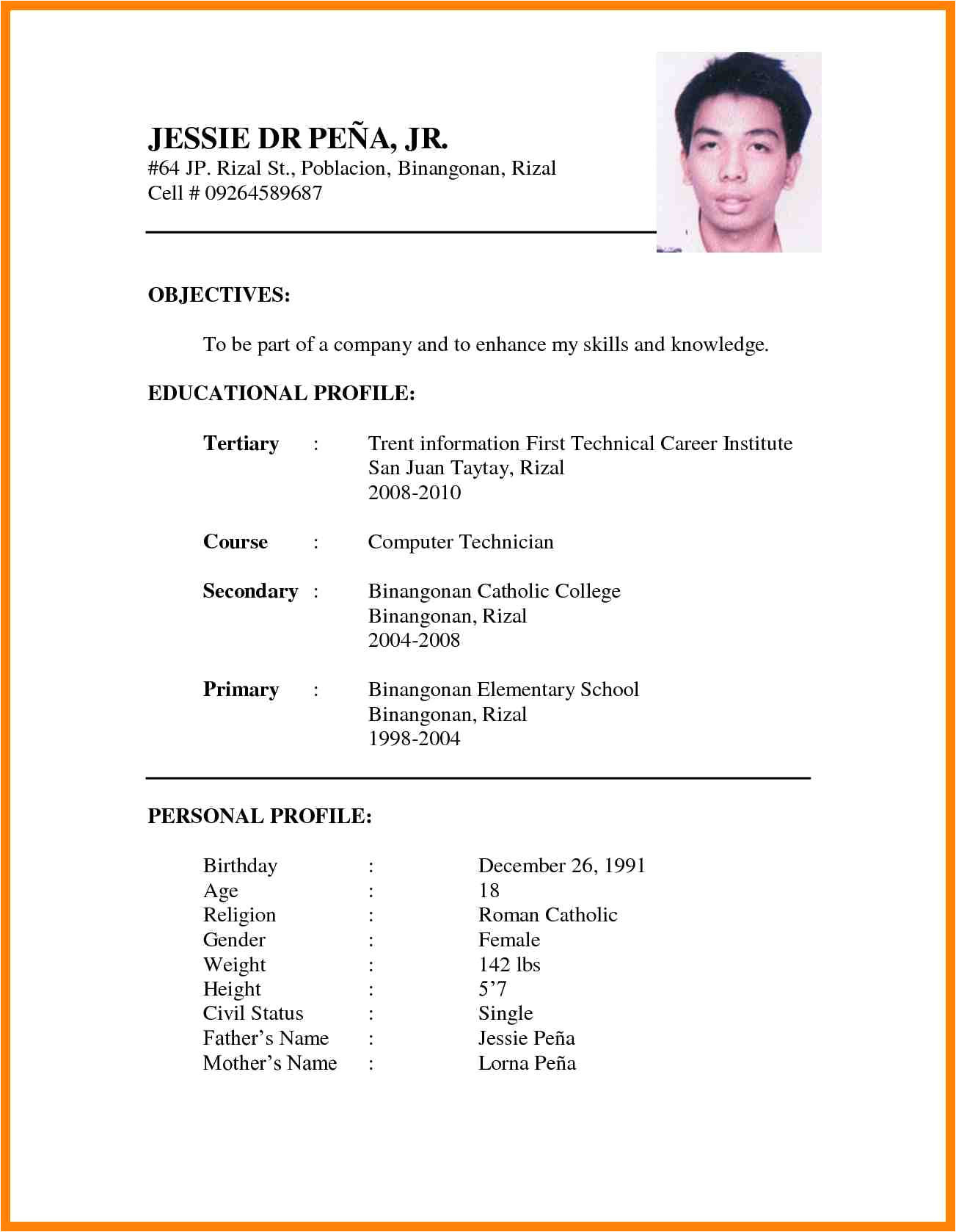 sample cover letter for job application abroad