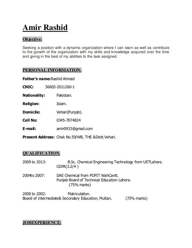 Show Me A Basic Resume   williamson-ga.us