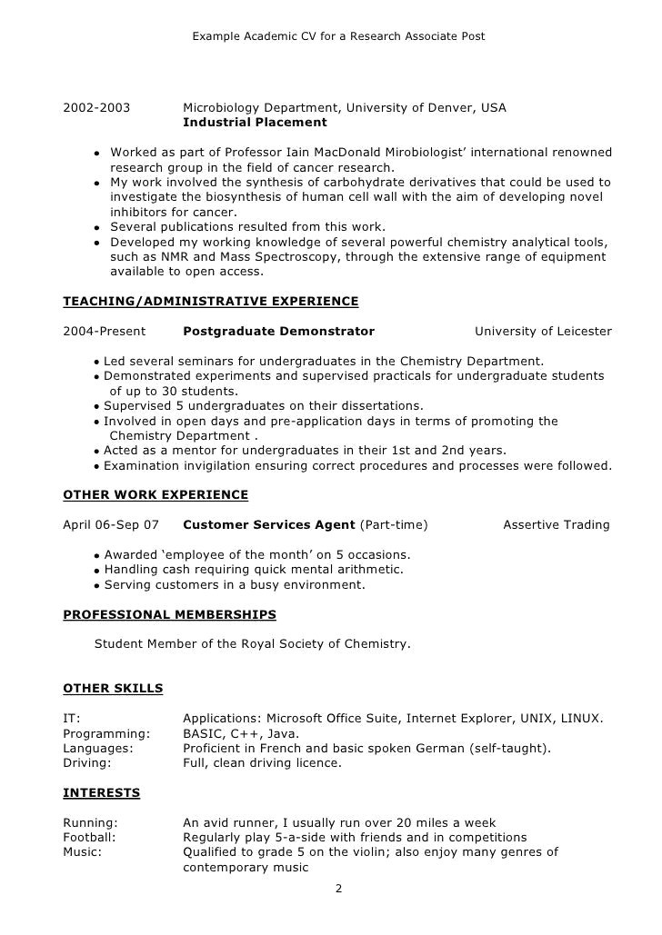 Simple Resume Format Hd Images