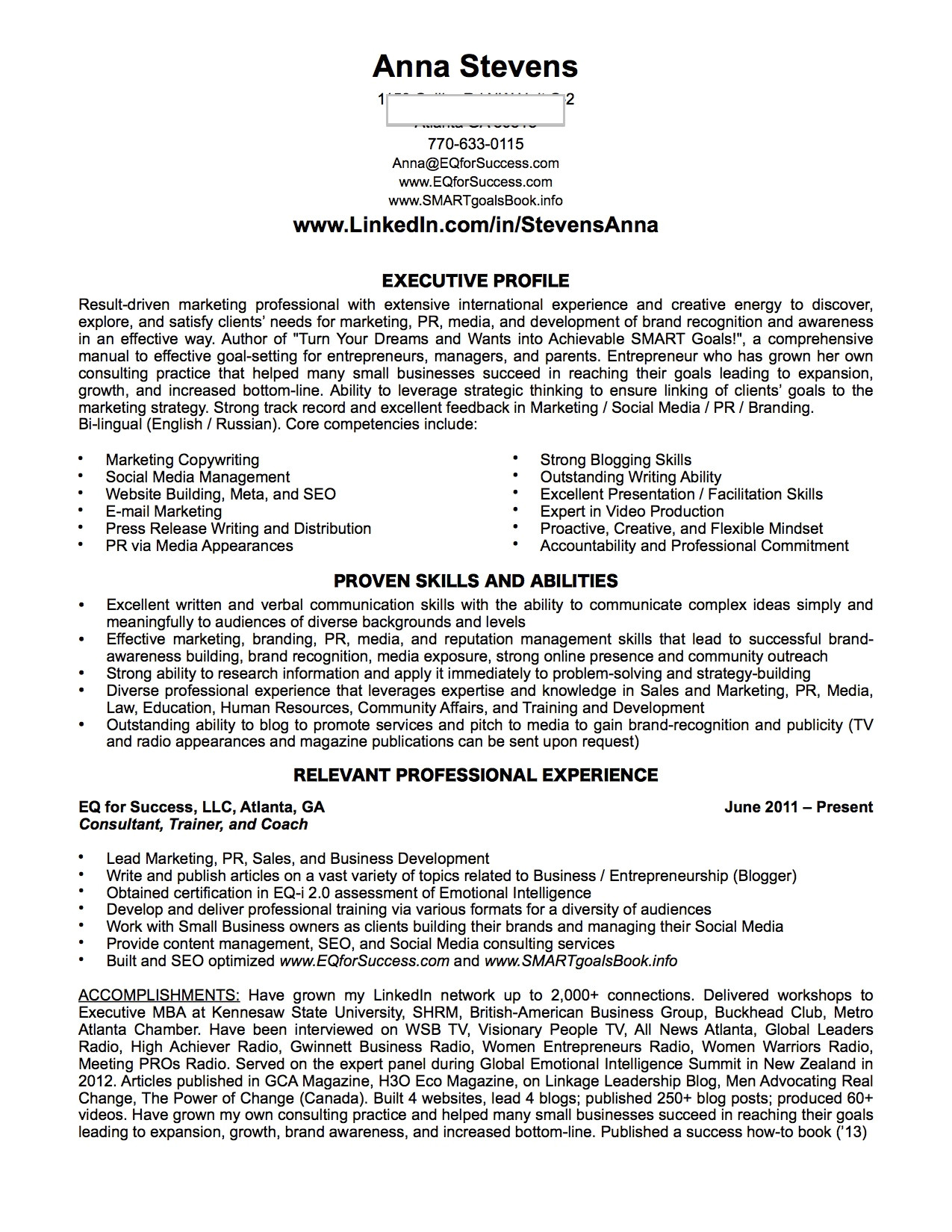 linkedin job application resume and cv for success