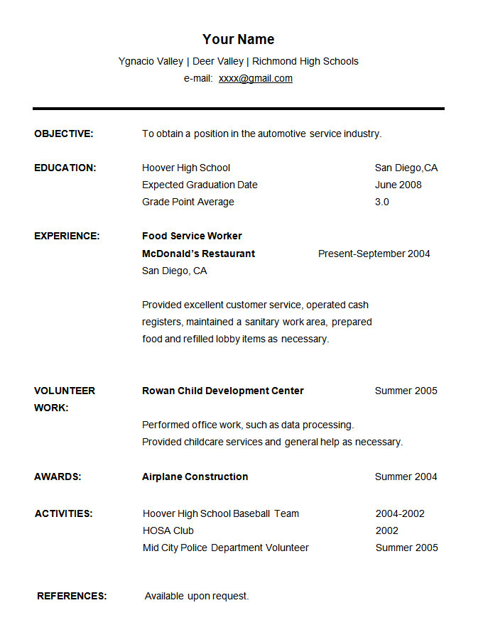 20 best resume templates for students