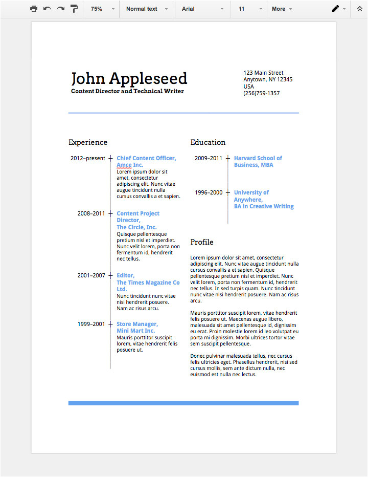 how to make professional resume in