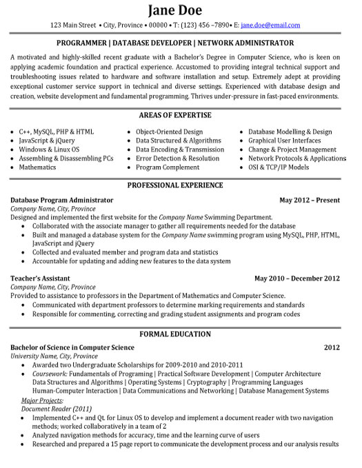 Student Resume Information Technology top Information Technology Resume Templates Samples