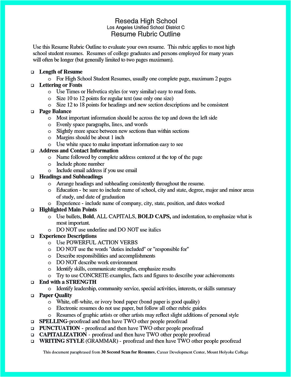 Student Resume Letter Best College Student Resume Example to Get Job Instantly