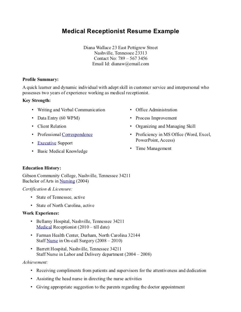 student resume references