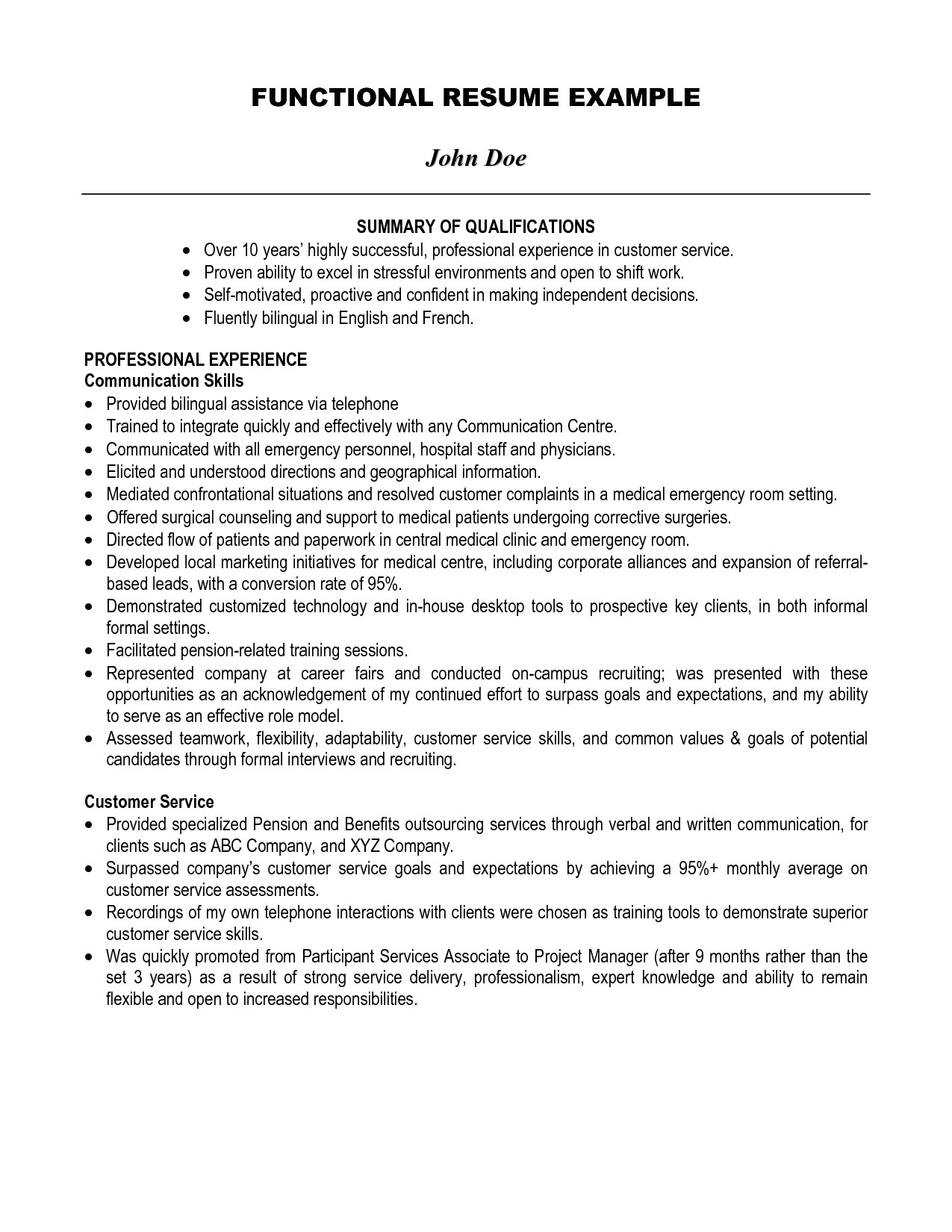 Student Resume Summary Of Qualifications Best Summary Of Qualifications Resume for 2016