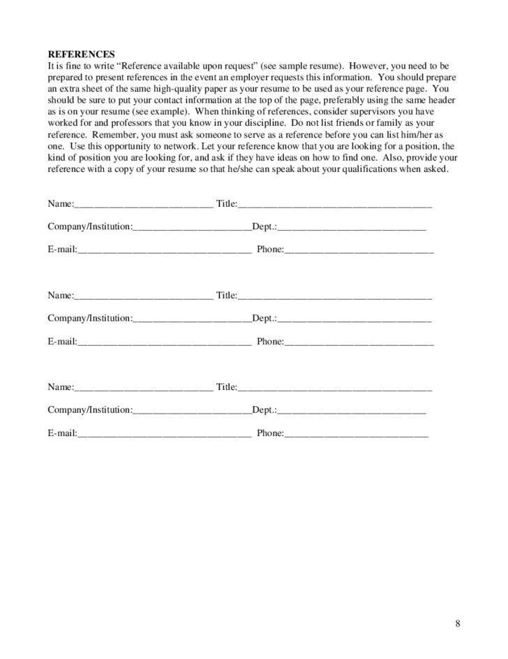 free high school student resume worksheet 6