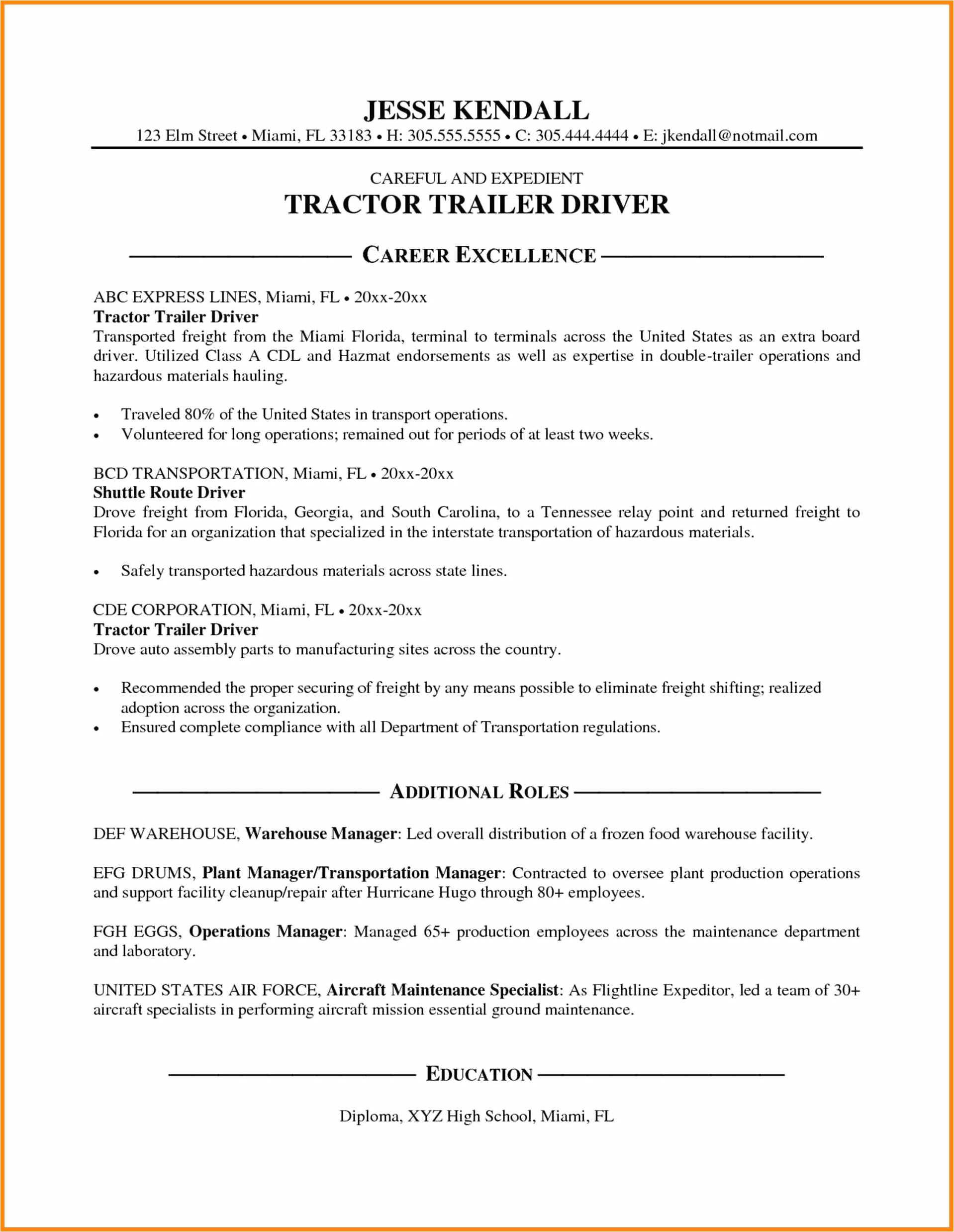 12 13 uber driver resume sample
