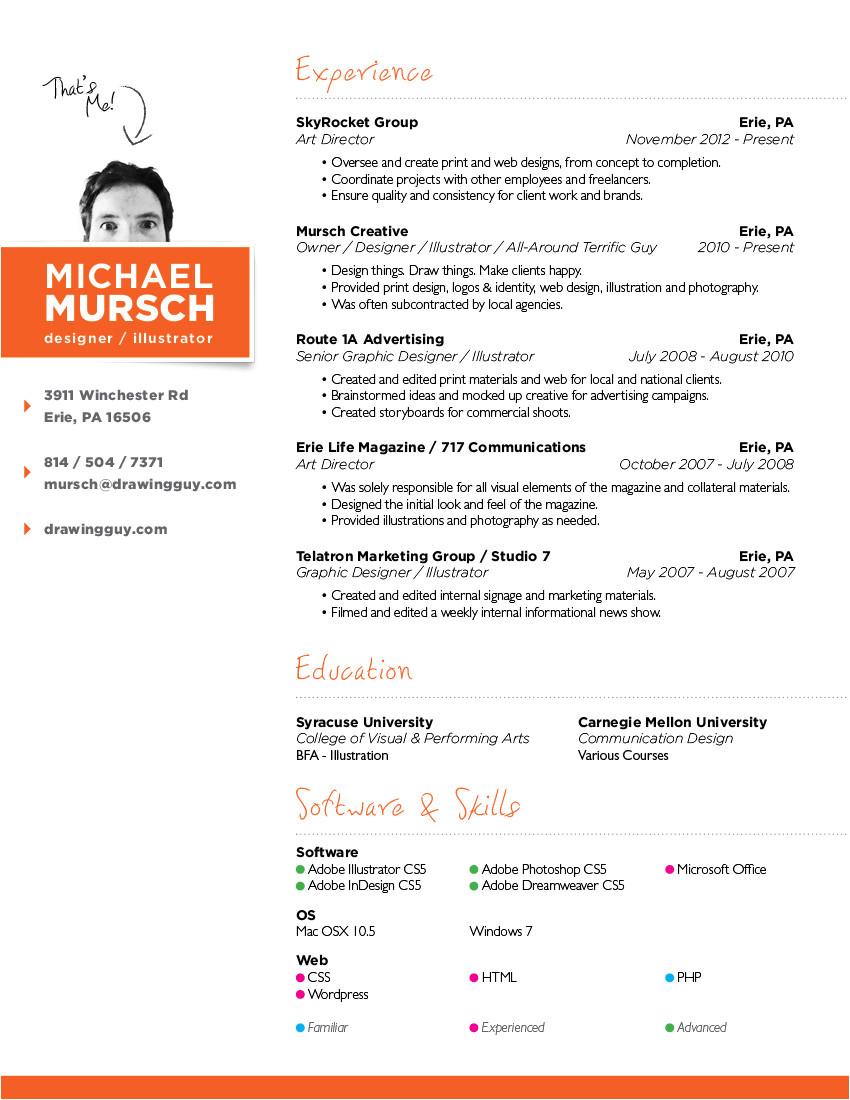 resume format for web designer freshers