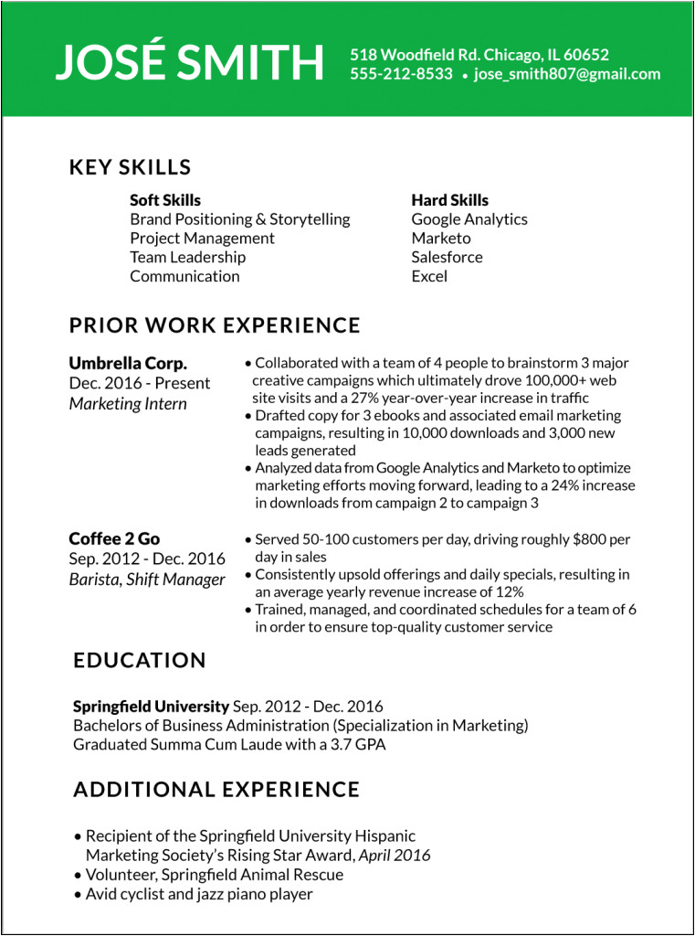 how to customize your resume
