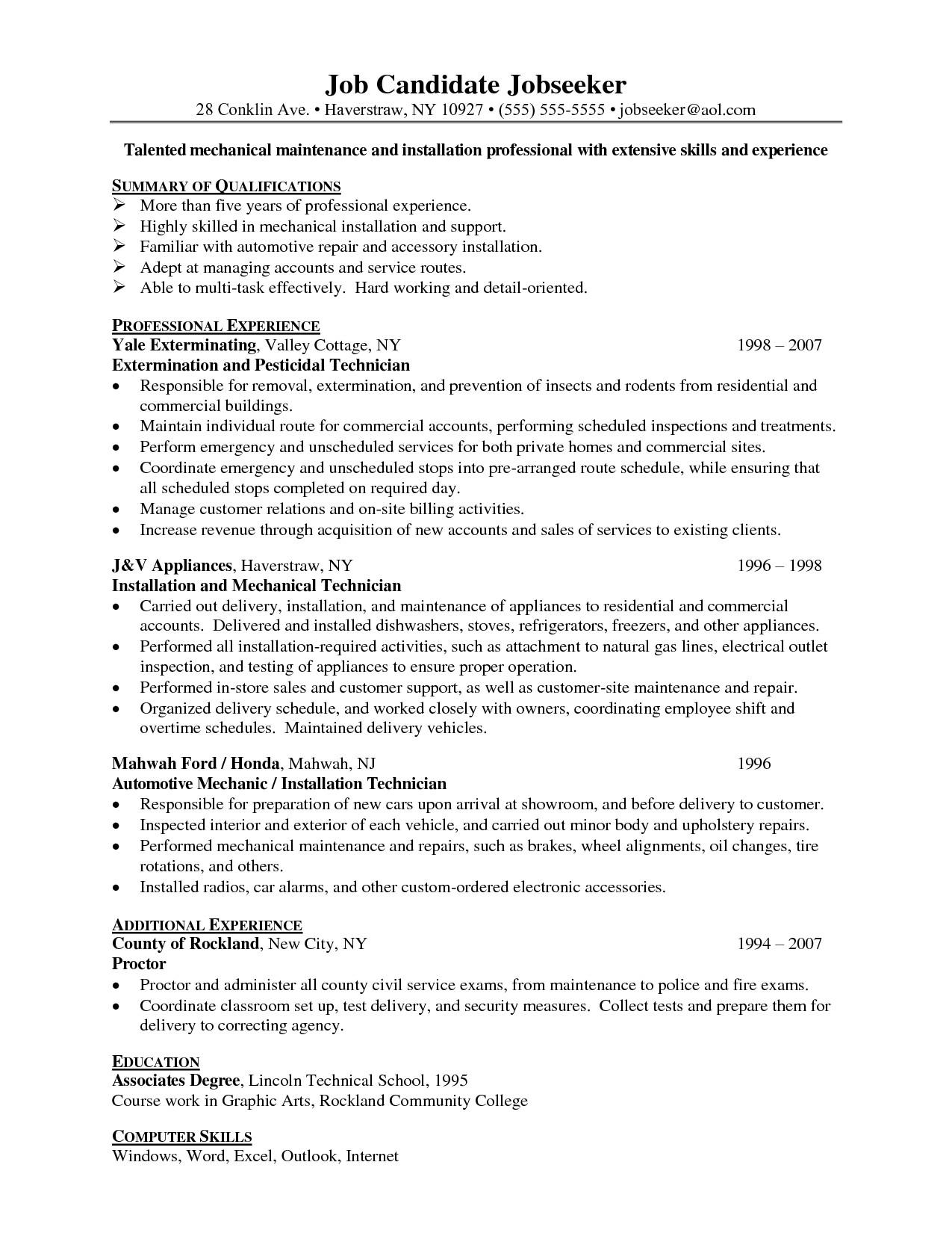 resume templates yale