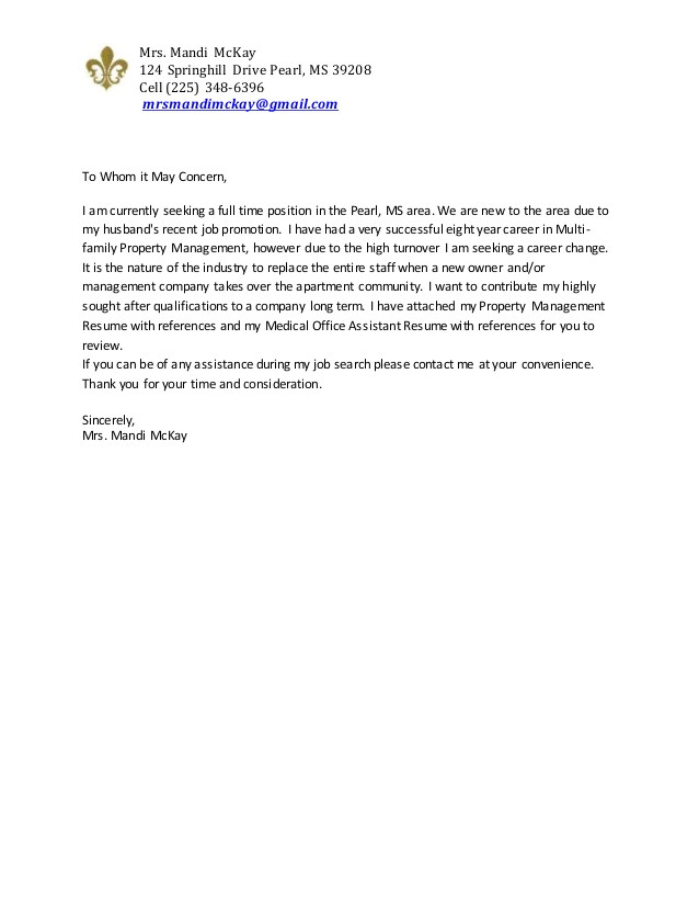 cover letter for receptionist with little experience
