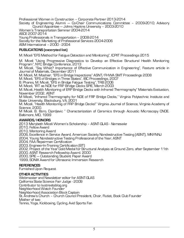 miceli master resume