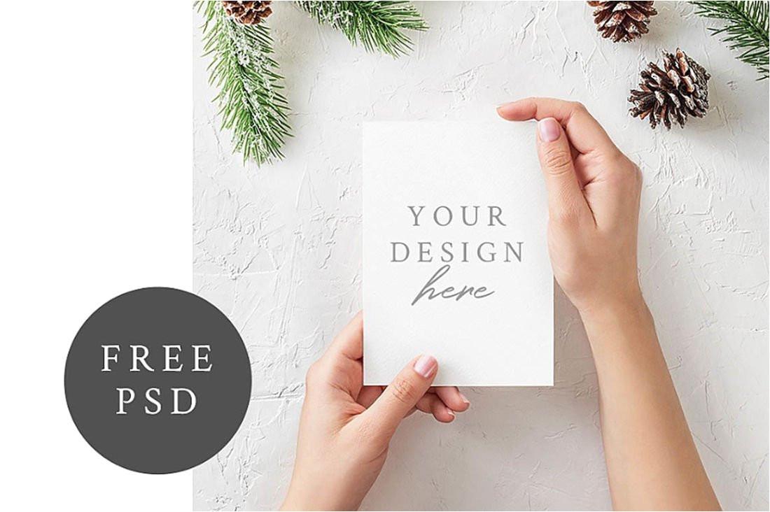 free christmas greeting card mockup 1100x732 jpg