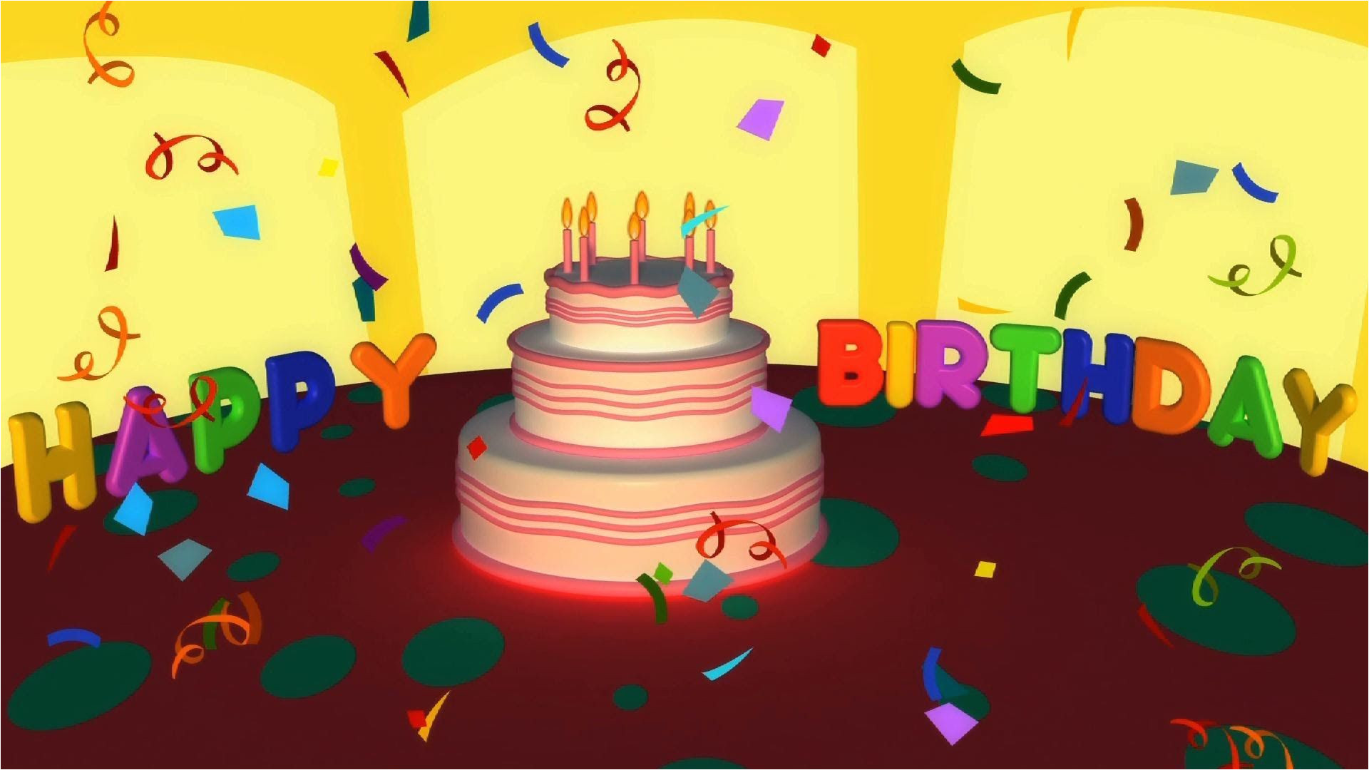 A Singing Happy Birthday Card Birthday songs Happy Birthday song Happy Birthday Ecard